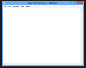 Windows Notepad makes it easy to track activities.